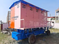 Mobile Toilet procured by Khandwa Municipal Corporation, MP under SUY Scheme of NSKFDC.